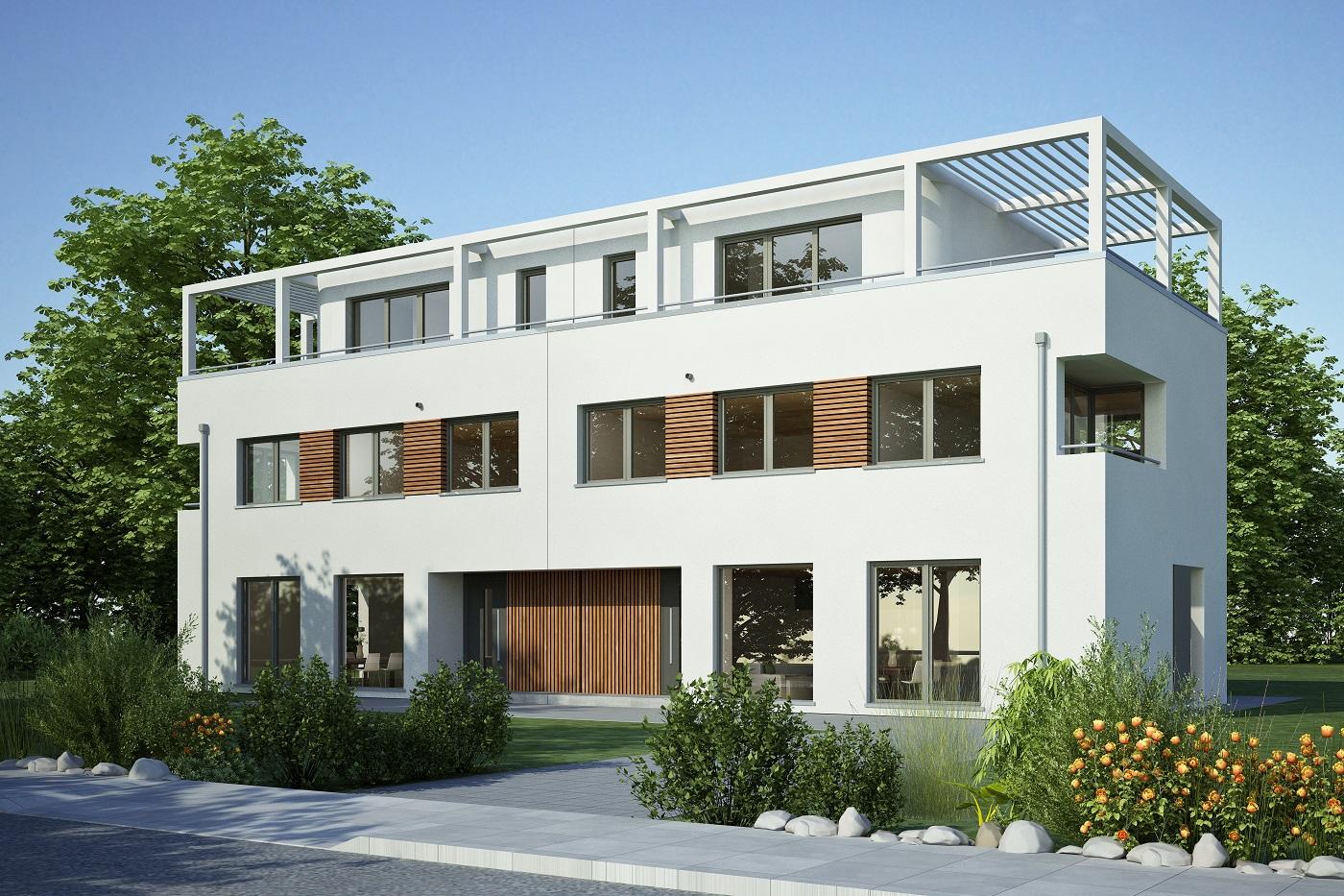 Mehrfamilienhäuser in LANGENAU